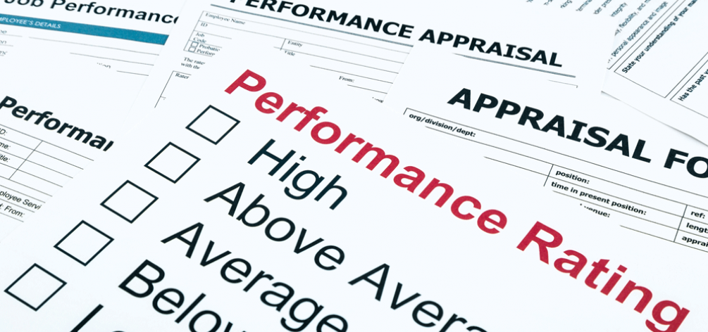 Research: the impact of performance evaluations on an individual's network.
